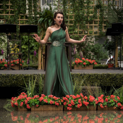 'Opera in the Garden' at The Merrion Hotel, Dublin in partnership with Wexford Festival Opera