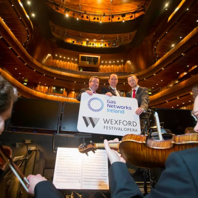 Gas Networks Ireland announces partnership with Wexford Festival Opera